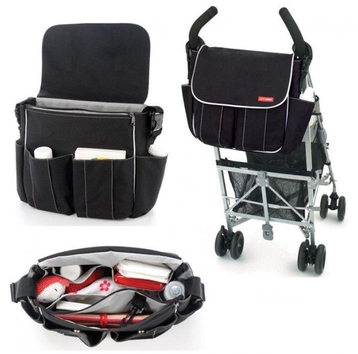 Bolsa Maternidade (Diaper Bag) Dash Preta Skip Hop