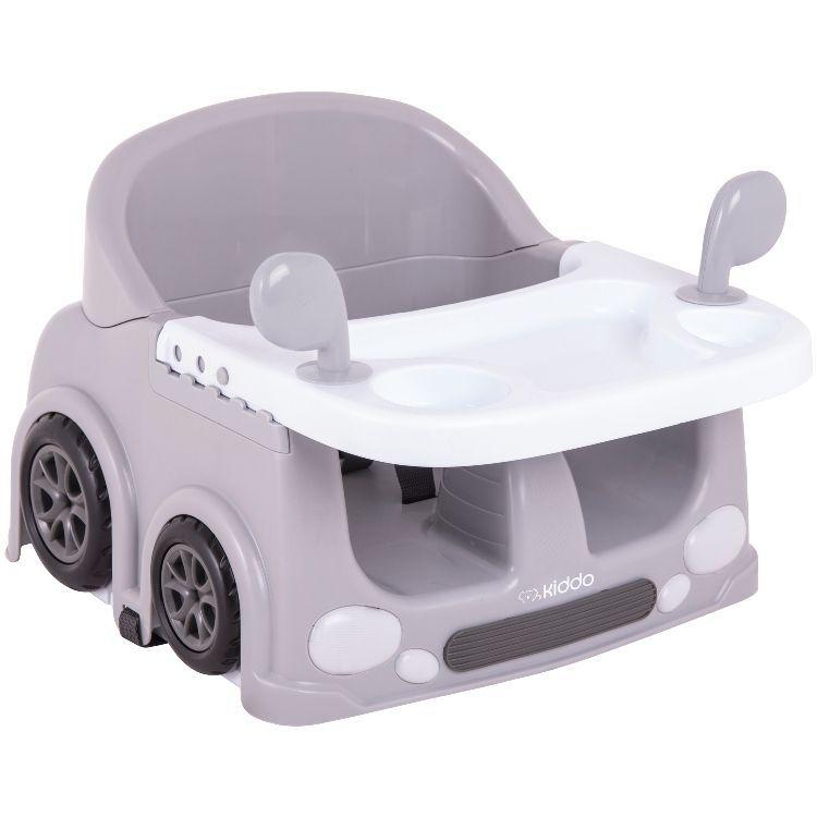 Cadeira de alimentação portátil drive Kiddo Cinza