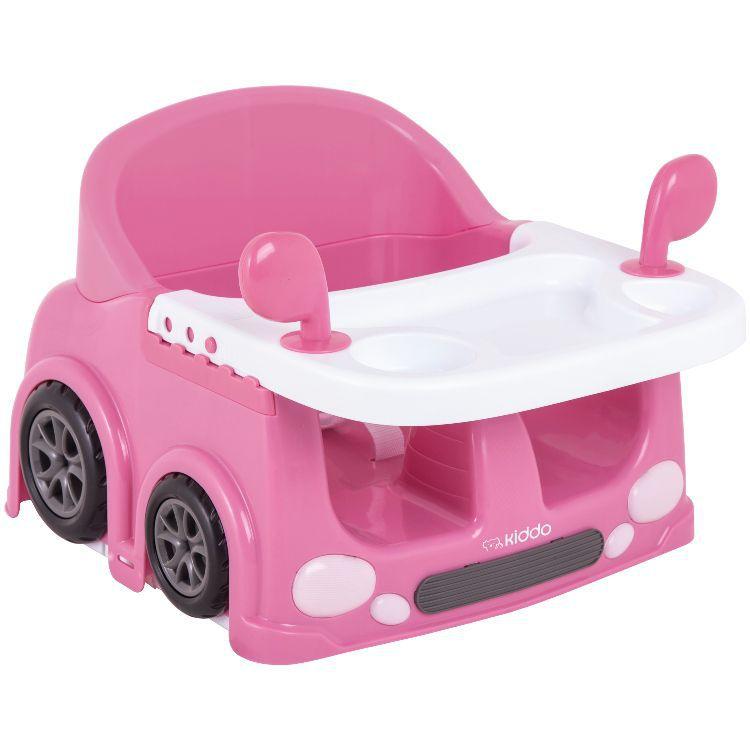 Cadeira de alimentação portátil drive Kiddo Rosa