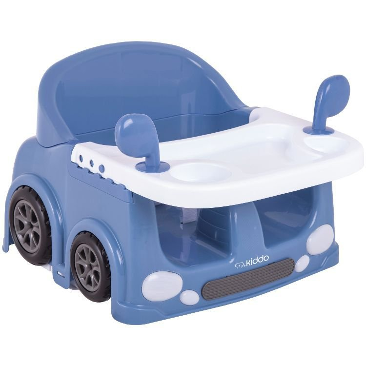 Cadeira de alimentação portátil drive Kiddo Azul
