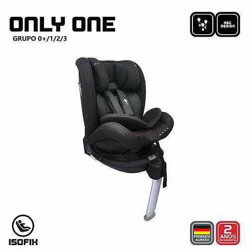 Cadeira para Auto Only One GRAVEL (Black) ABC Design