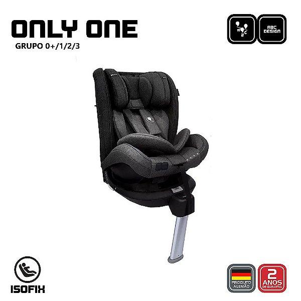 Cadeira para Auto Only One ASPHALT ABC Design