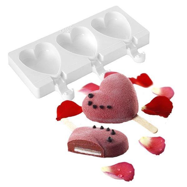 Forma para sorvete Coração