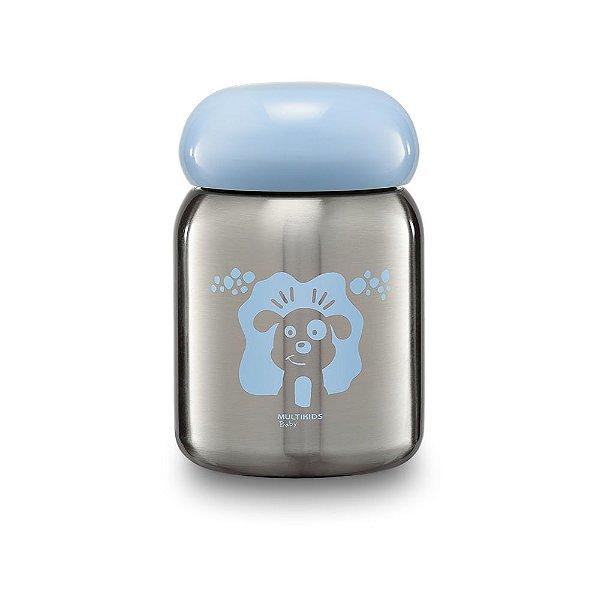 Pote térmico para papinhas Multikids Keep It Cool Azul