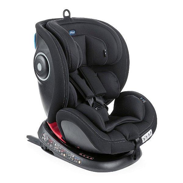 Cadeira Seat 4 Fix Chicco com rotação 360 Black