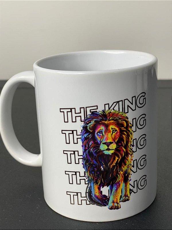 Caneca Leão king