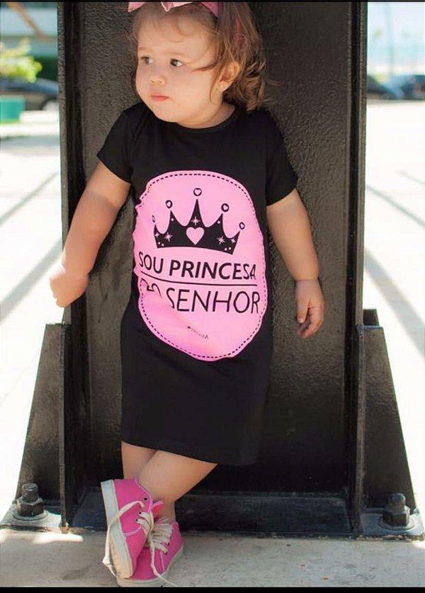 Vestido infantil princesa do senhor