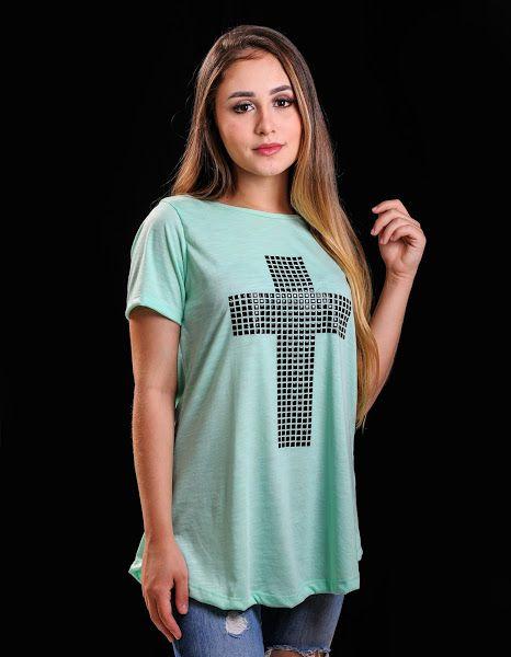 Bata cruz (verde)