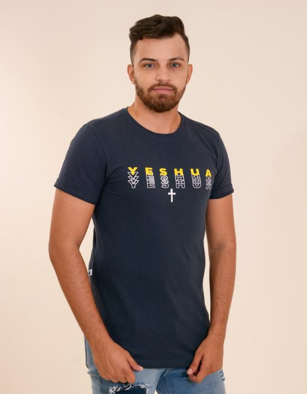 Longline yeshua degradê (cor azul)