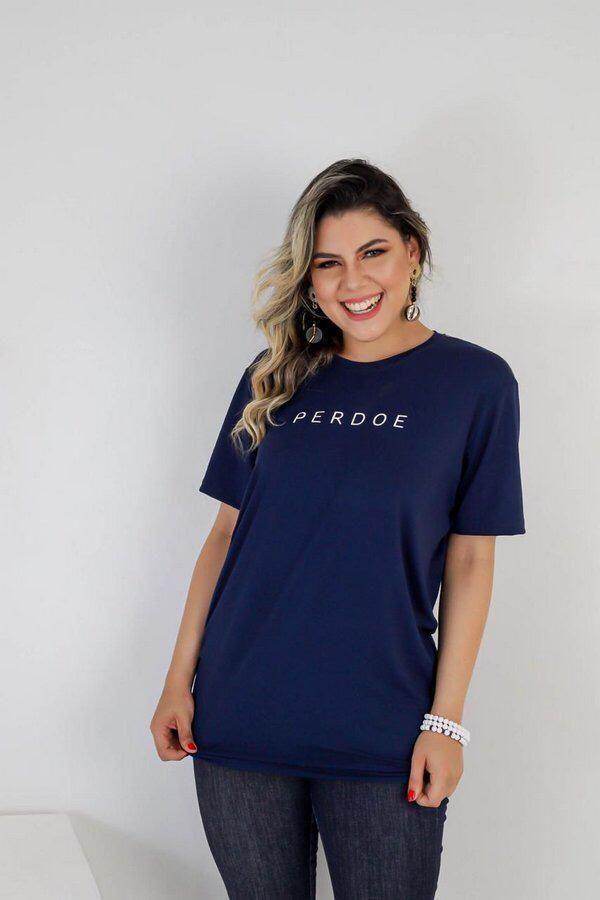 Longline Perdoe (azul marinho)