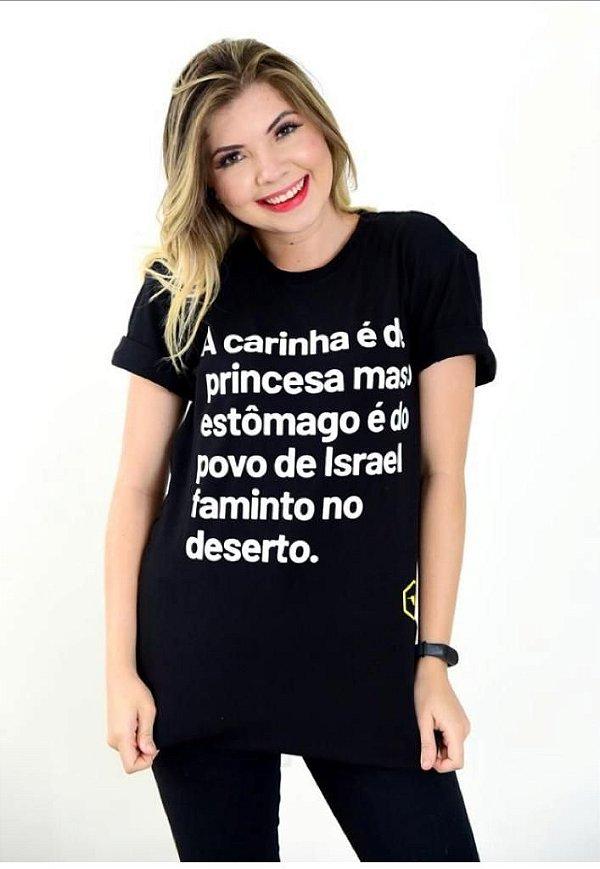 Camiseta - A carinha é de princesa ...