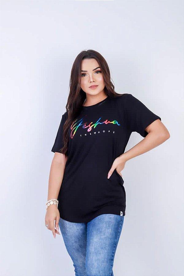 Camiseta Yeshua the Hope (cor preta)