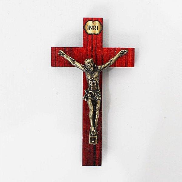 Crucifixo 8 cm com adesivo - PAcote com 6 peças - Cód.: 194