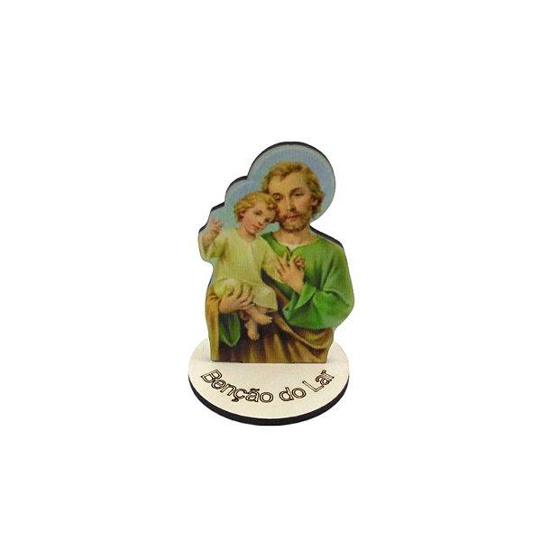 Enfeite de mesa em MDF de São José - O pacote com 6 peças - Cód.: 1647