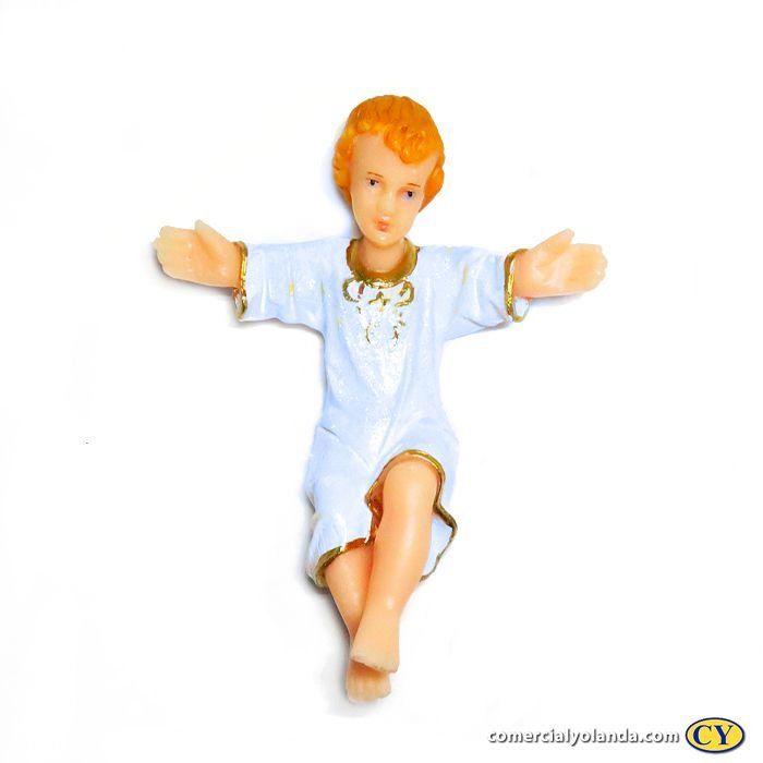 Imagem de Menino Jesus de 15 cm - A unidade - Cód.:  7118