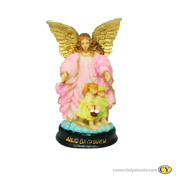 Anjo da Guarda de mesa em resina M - A Unidade - Cód.: 8646