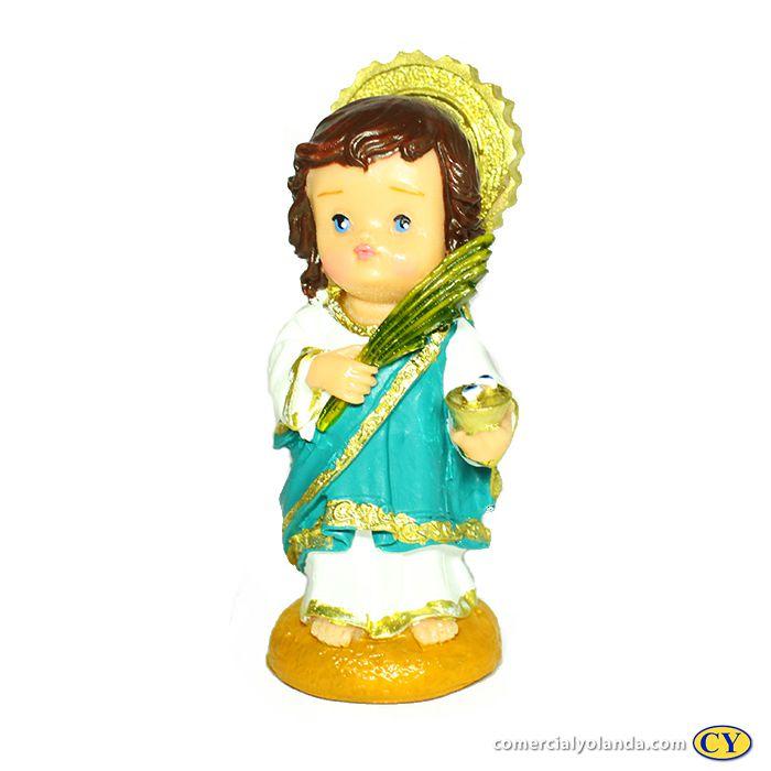 Santa Luzia criança M - O Pacote com 3 peças - Cód.: 7913