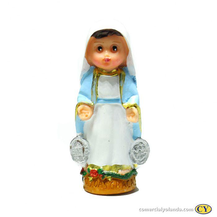 Nossa Senhora das Graças criança P -O pacote com 3 unidades - Cód.: 4048