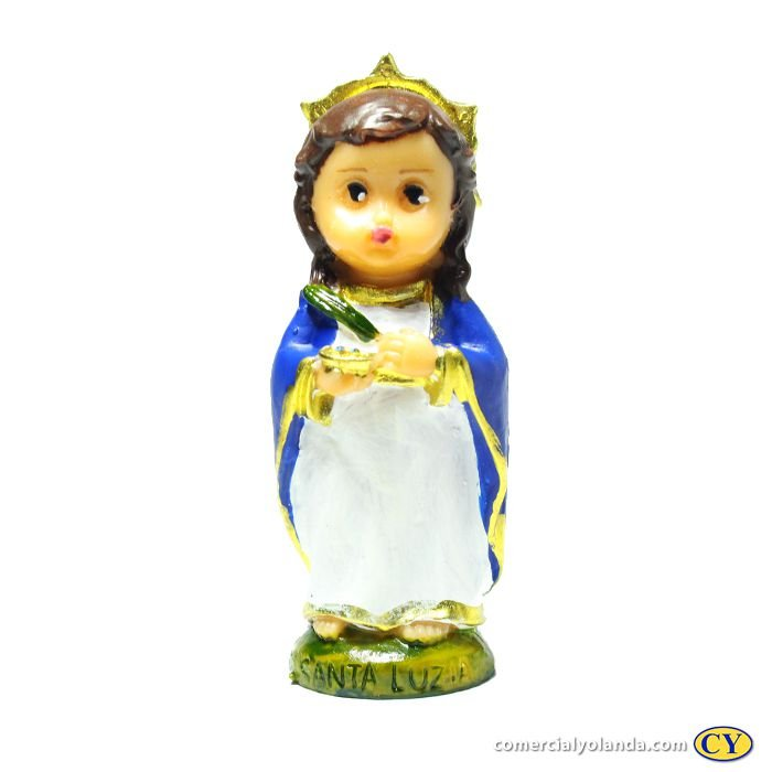 Santa Luzia criança P - O pacote com 3 unidades - Cód.: 4048