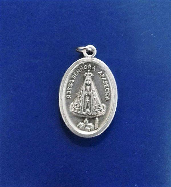 Medalha Fosca de Nossa Senhora Aparecida - A Dúzia - Cód.: 3630