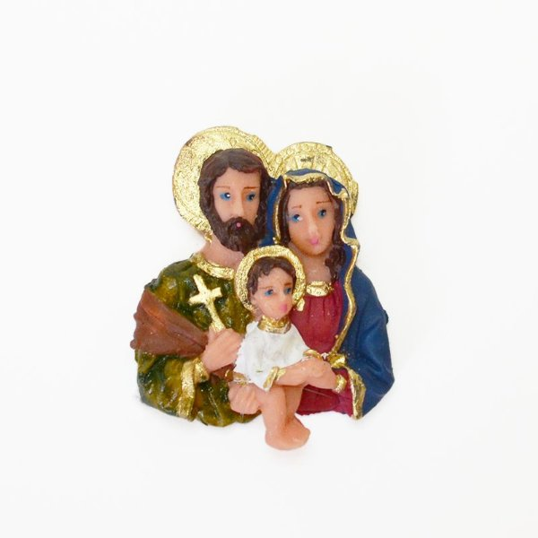 Ímã em resina da Sagrada Família - Grande - Pacote com 6 peças - Cód.: 8541