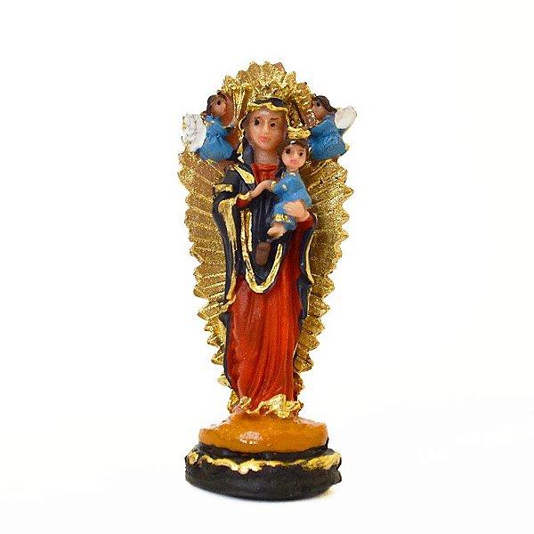 Imagem de Nossa Senhora do Perpétuo Socorro PP em Resina - O Pacote com 3 unidades - Cód.: 5774