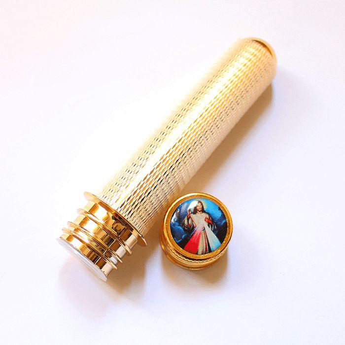 Aspersório para Água Benta de Jesus Misericordioso - Pacote com 3 peças - Cód.: 3362