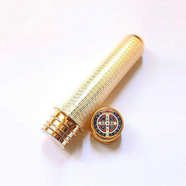Aspersório para Água Benta Medalha de São Bento - Pacote com 3 peças - Cód.: 3362