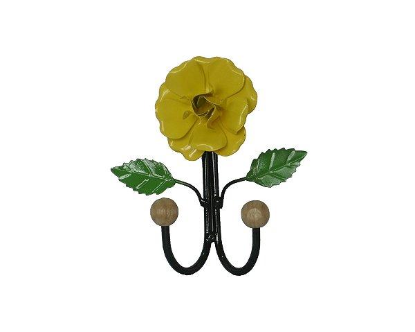 Cabide de Metal em Forma de Flor Pequeno - A unidade - Cód.: 883