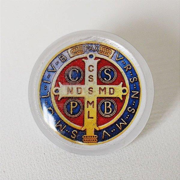 Botton Imagem - V. Líquido - Medalha de São Bento - A Dúzia - Cód. 1421