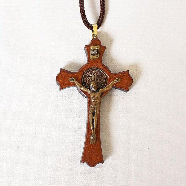 Cruz com Cordão Média - A Dúzia - Cód. 1125