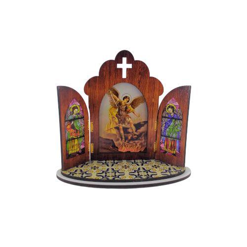Capela portuguesa de São Miguel - O pacote com 3 peças - Cód.: 6355
