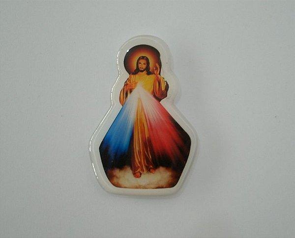 Ímã Imagem V. Líquido de Jesus Misericordioso - Pacote com 12 unidades - Cód.: 8423