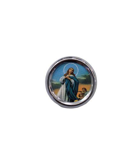 Imã redondo de Nossa Senhora da Conceição - A duzia - Cód.: 1555