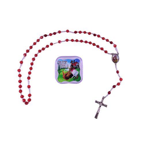 Terço de São Jorge - O pacote com 6 peças - Cód.: 2493