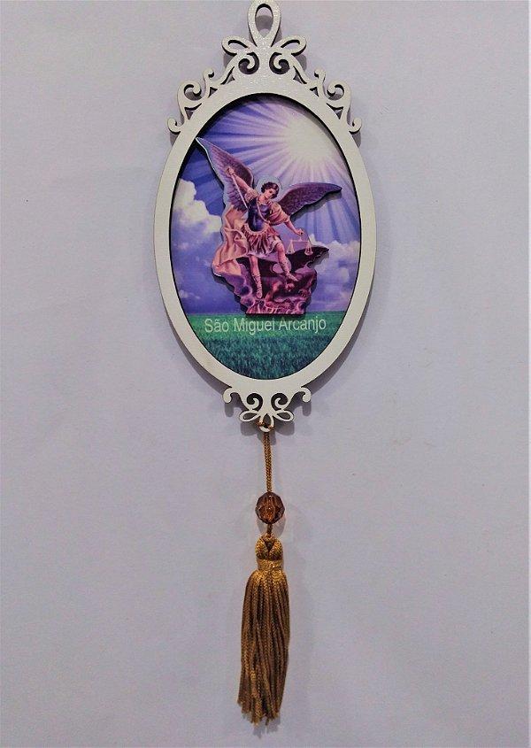 Moldura Espelho de São Miguel em MDF - O pacote com 3 peças - Cód.: 1118