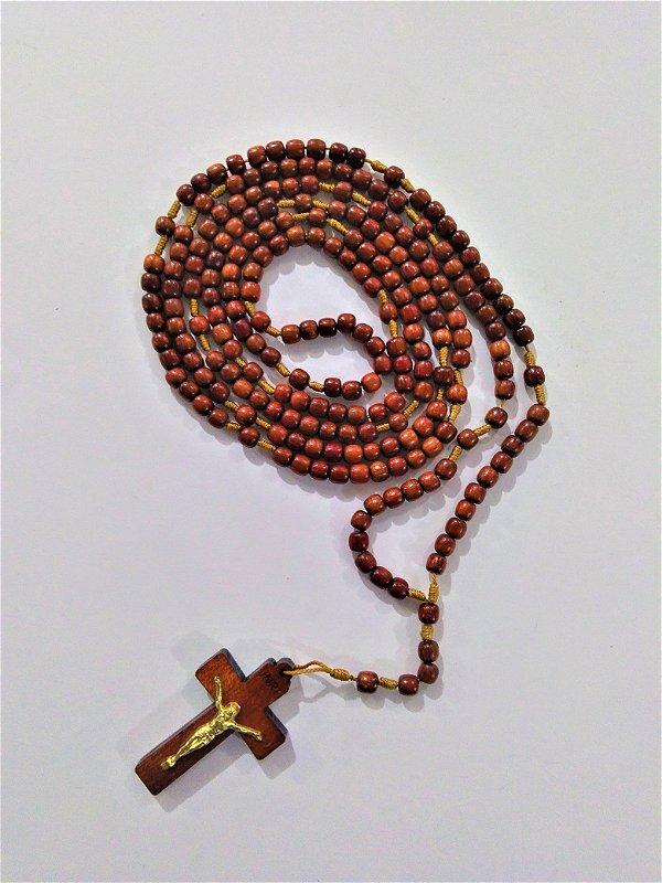 Rosário Mini com Cristo - O pacote com 3 peças - Cód.: 4308