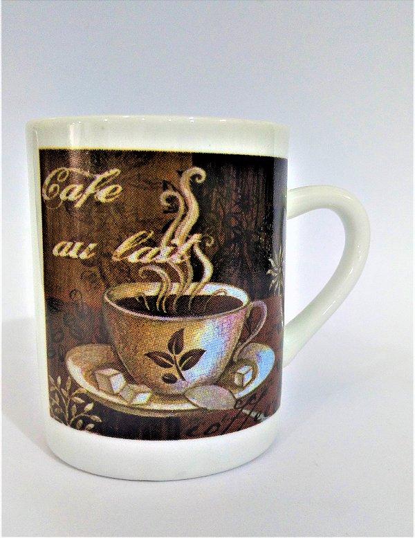 Caneca Redonda de Café - O pacote com 6 peças sortidas - Cód.: 1571