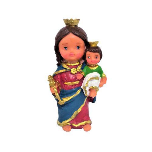 Nossa Senhora Auxiliadora Criança M - O Pacote com 3 peças - Cód.: 7913