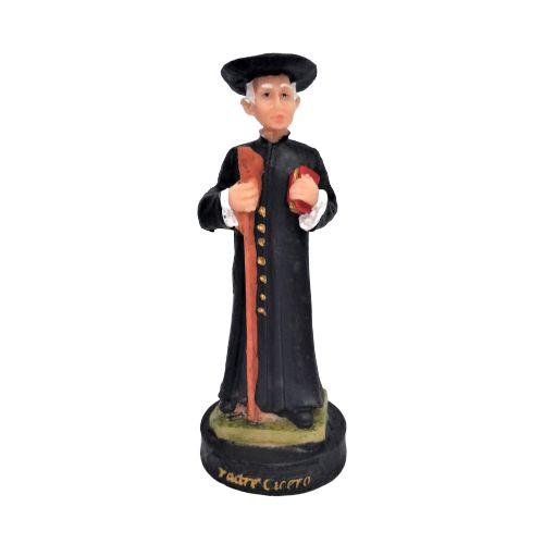 imagem do Padre Cícero P em Resina - O pacote com 12 peças - Cód.: 8564