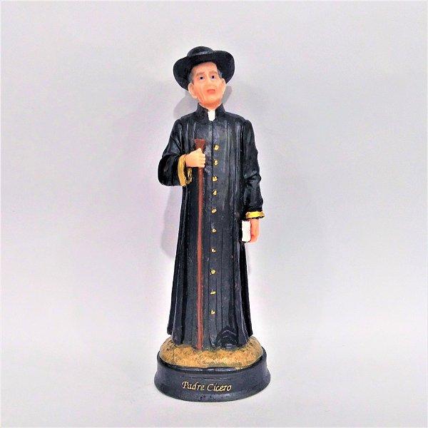 Imagem do Padre Cícero G em resina - A unidade - Cód.: 3937