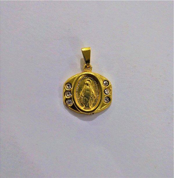 Medalha de Nossa Senhora das Graças - O pacote com 3 peças - Cód.: 6284