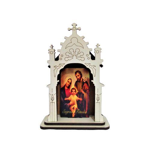 Capela PP - Sagrada Família - O pacote com 3 peças - Cód.: 6421