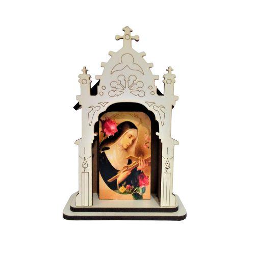 Capela PP - Santa Rita - O pacote com 3 peças - Cód.: 6421