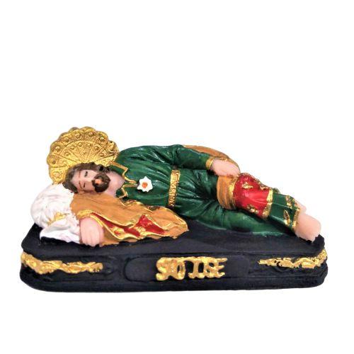 Imagem de São José Dormindo Mini em resina - O pacote com 3 peças - Cód.: 0647