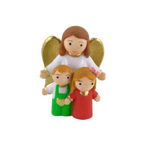 Mini Anjo da Guarda em Resina - O pacote com 3 peças - Cód.: 5017