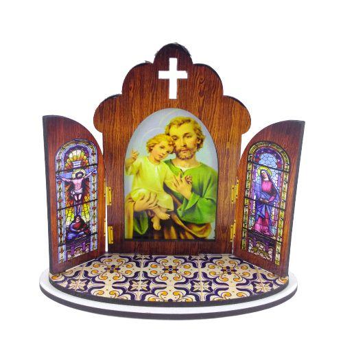 Capela modelo Portuguesa de São José - O pacote com 3 peças - Cód.: 6355