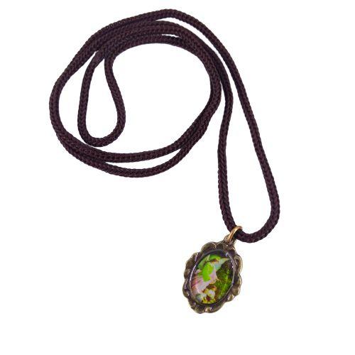 Cordão com Medalha Ramo, Anjo da Guarda - A dúzia - Cód.: 3916