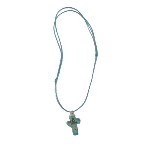Cordão com Cruz Primeira Eucaristia - O Pacote com 6 peças - Cód.: 7878