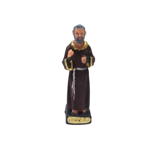 Imagem do Padre Pio PP em Resina - o Pacote com 3 peças - Cód.: 5774